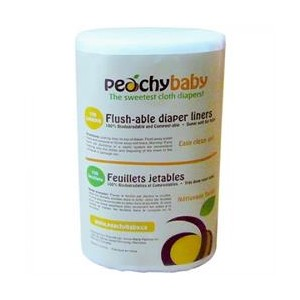 Peachy Baby - Flushable Liners