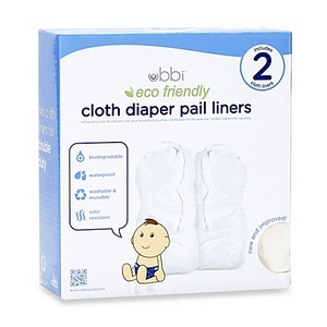 Ubbi - Cloth Diaper Pail Liner Twin Pack