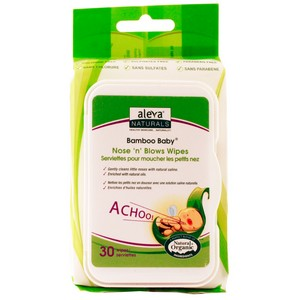 Aleva - Bamboo Nose n Blow Wipes