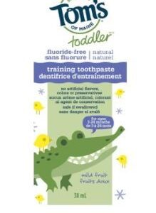 Tom's of Maine - Toddler Training Toothpaste - Mild Fruit