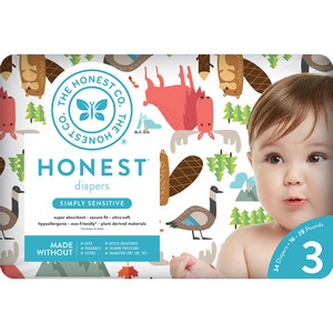 Honest - Size 3 Diapers