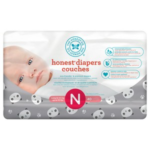 Honest - Size NB Diapers