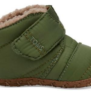 bdc6e81611b Toms – Light Pine Quilted Tiny Cuna Crib Shoes. Home   Shop   Shoes   Boots    Toms – Light Pine Quilted Tiny Cuna Crib Shoes ...