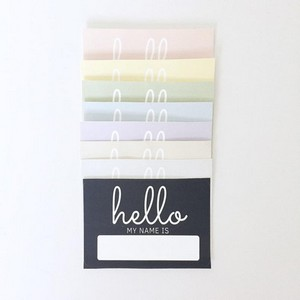 AMK Design Shop - Hello, My Name Is...