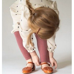 Little Stocking Co. - Cable Knit Footless Tights