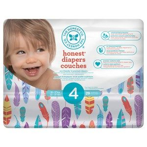 Honest - Diapers Size 4