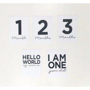 note:able - Monochrome Milestone Cards
