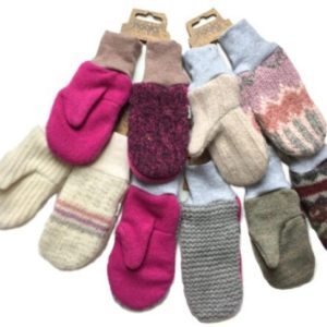 Nooks Design - OOAK Upcycled Wool Mittens