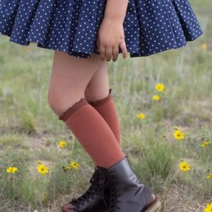 Little Stocking Co - Lace Top Knee Highs **SALE ITEMS ARE FINAL SALE**