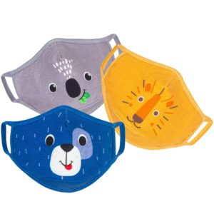 Zoocchini - Organic Reusable Masks 3pk (3years+) *FINAL SALE*