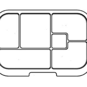 MUNCHBOX - Maxi6 - Clear Tray