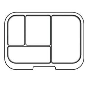 MUNCHBOX - Mega4 - Clear Tray