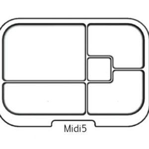 MUNCHBOX - Midi5 - Clear Tray