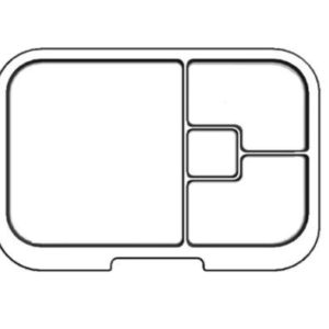 MUNCHBOX - Mini4 - Clear Tray
