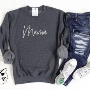 Blonde Ambition - Mama Cozy Crew Neck Sweater