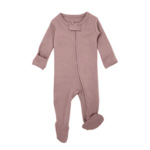 Loved Baby - Organic Reversed Zipper Jumpsuit