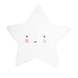 A Little Lovely - Little Light Star White