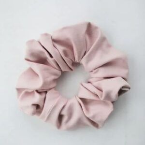 Loose Threads Co - Blush Cotton Luxe Scrunchie