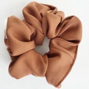 Loose Threads Co - Copper Twill Scrunchie