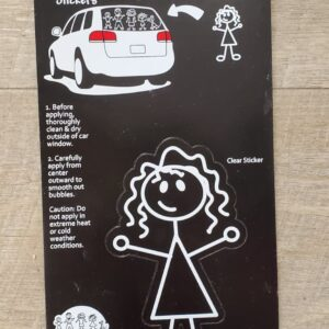 Family Car Sticker - **FINAL SALE**
