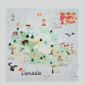 Loulou Lollipop - Muslin Swaddle - Canada