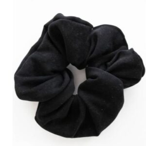 Loose Threads Co. - The Gym Scrunchie - Black