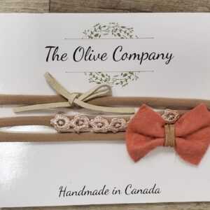 The Olive Company - 3pk Headbands - **FINAL SALE**