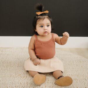 Mebie Baby - Tank Ribbed Bodysuit