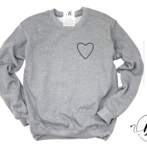 Blonde Ambition - All Heart Cozy Crew Neck Sweater