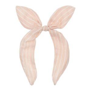 Mimi & Lula - Pink Stripe Coco Bow Alice Headband