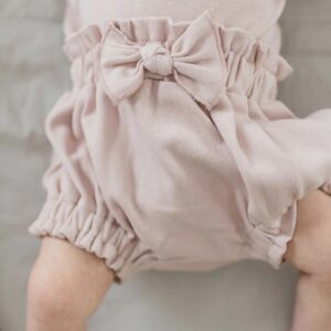 Loved Baby - Ruffle Bloomer in Rosewater